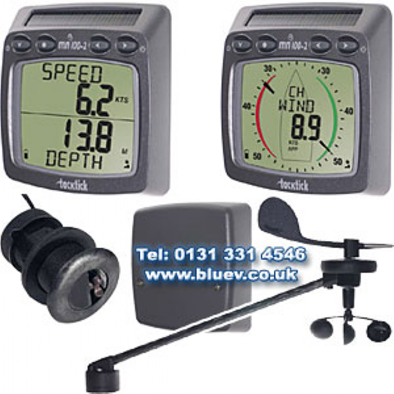 Raymarine T108 Micronet Speed, Depth & Wind System - special offer until 29/4/21